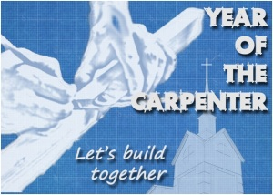 year of the carprenter logo